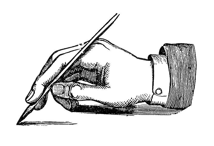 Handwriting Clip Art.