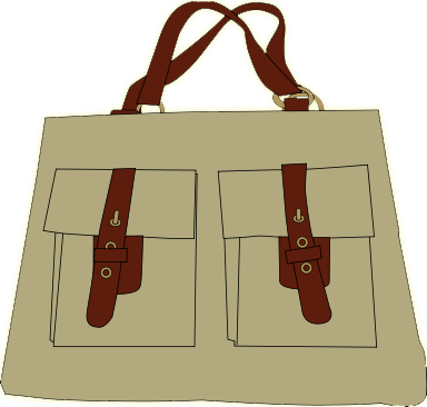 Free to Use & Public Domain Handbags Clip Art.