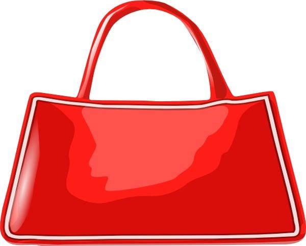 Handbag clip art Free vector in Open office drawing svg ( .svg.