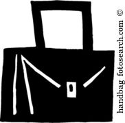 Handbag Clip Art and Illustration. 9,155 handbag clipart vector.