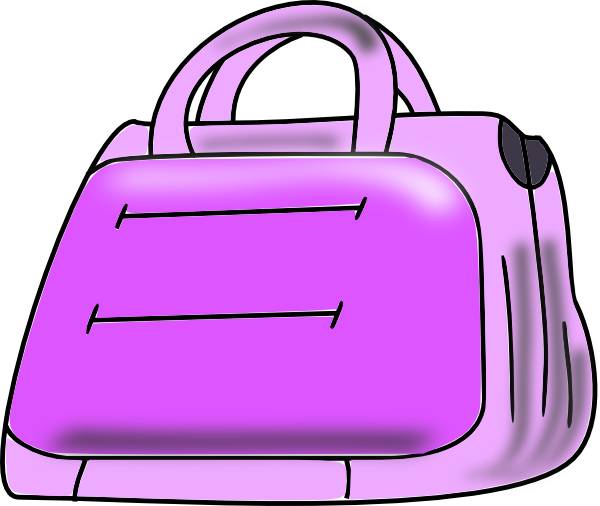 Showing post & media for Cartoon purple pocketbook.