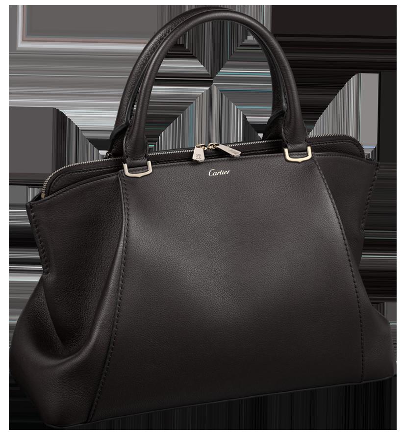 Black Handbag Cartier PNG Clip Art.
