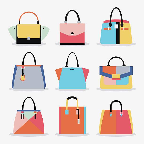 Best Handbag Illustrations, Royalty.