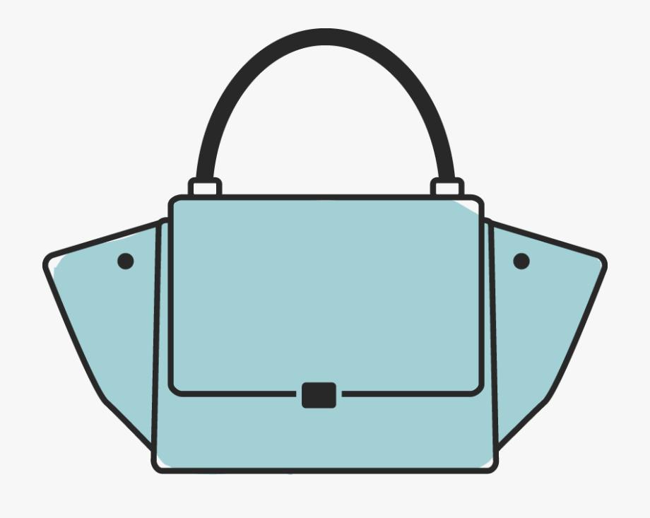 Designer Handbag Clipart.