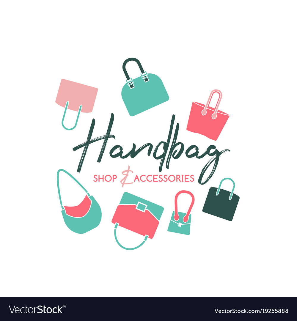 Handbag shop logo.