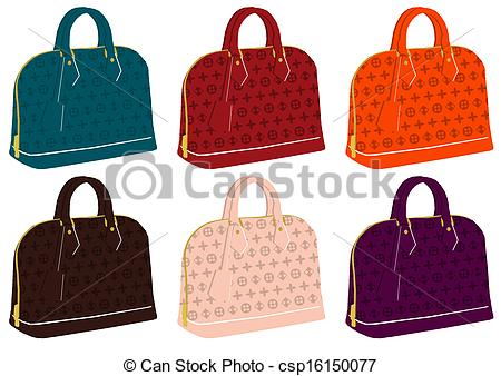 Handbags Stock Illustrations. 13,652 Handbags clip art images and.