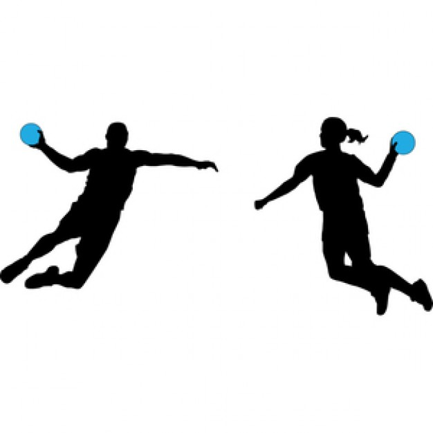 Handball Clip Art.