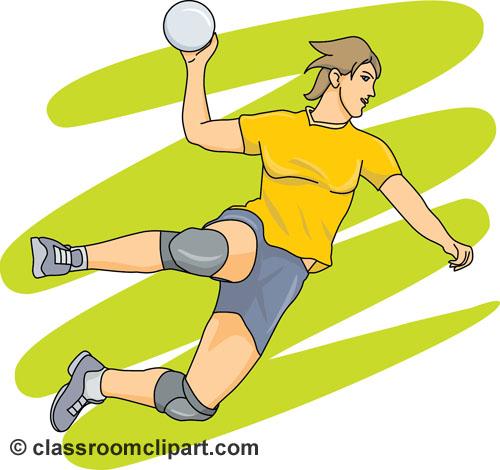Handball images clip art.