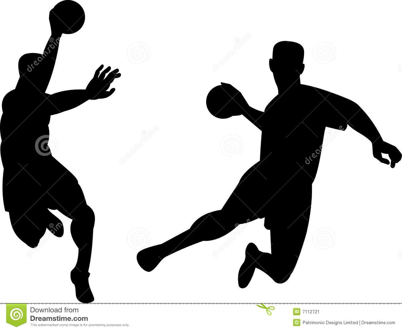 Handball Clipart Page 1.