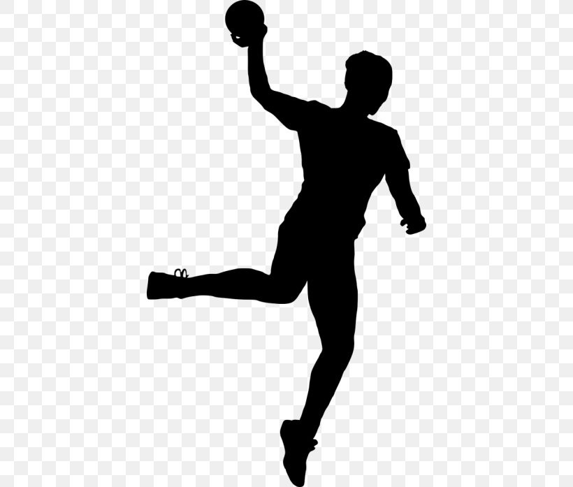 Handball Clip Art Silhouette Sports, PNG, 400x697px.