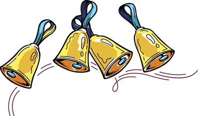 Free Clipart Handbells.