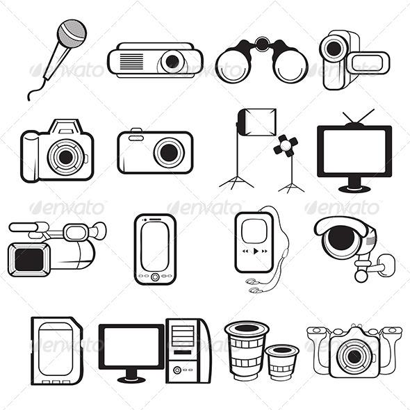 Handycam clipart.