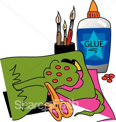 Kids Arts And Crafts Clip Art.