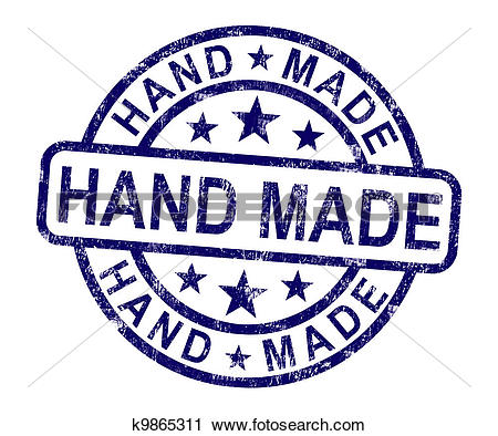 Clipart of Badges For Handmade Products k14223964.