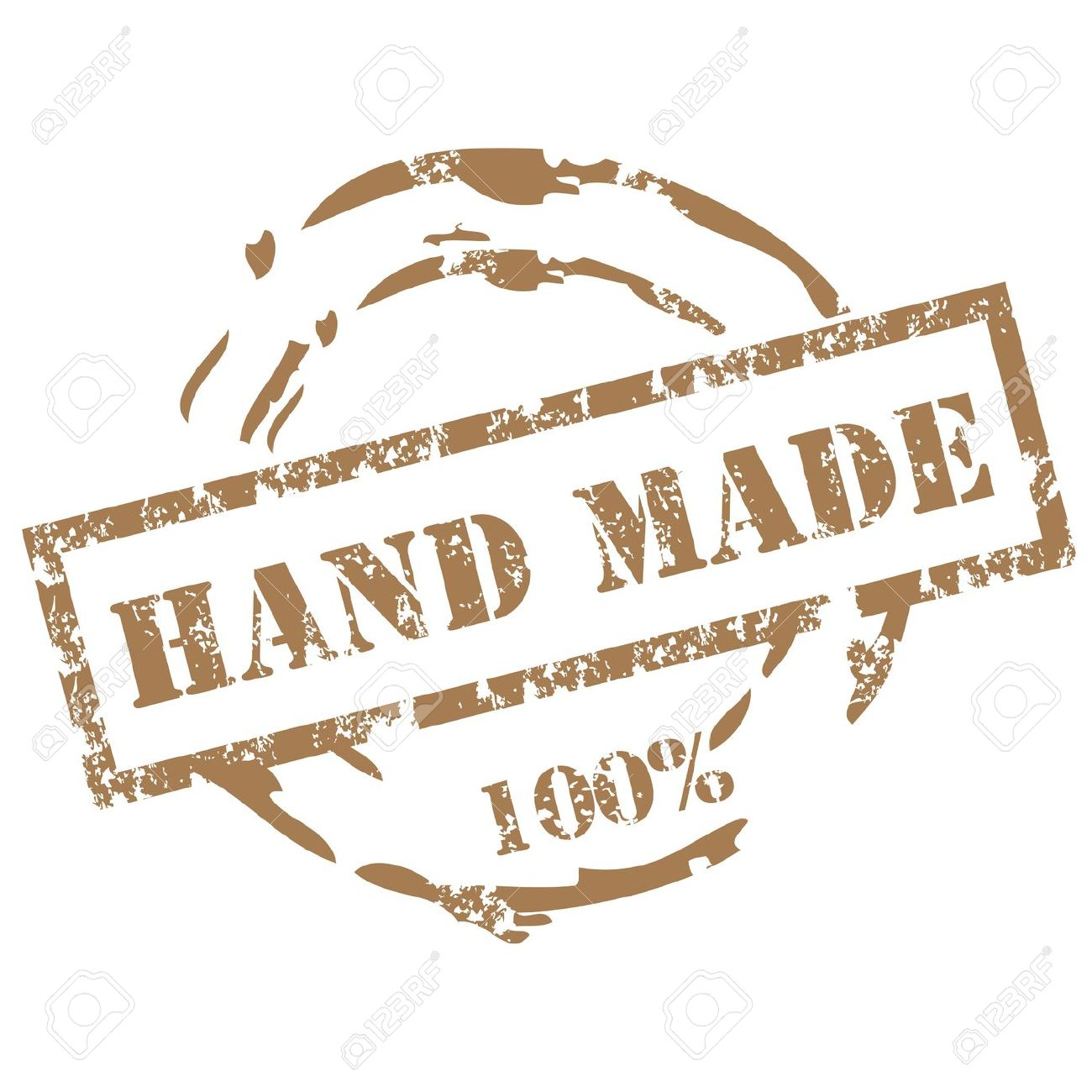 Handmade Stamp Clip Art.