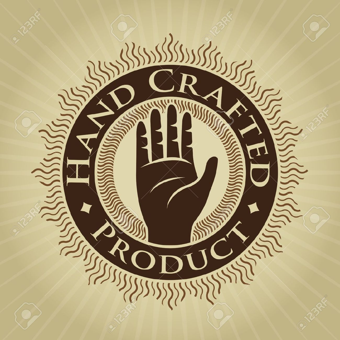 Handcrafted clipart.