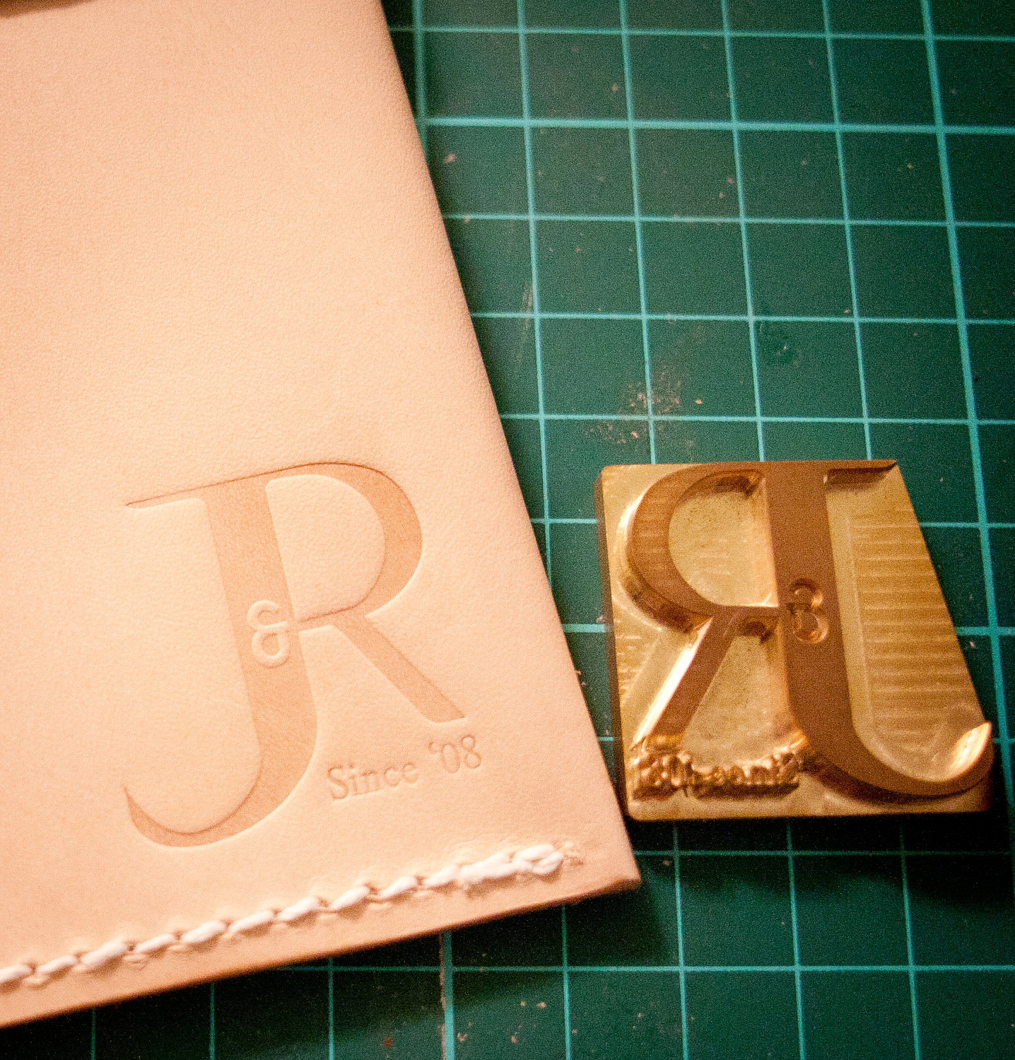 Custom Leather Stamp for Embossing / Stamping by LWleatherworks.