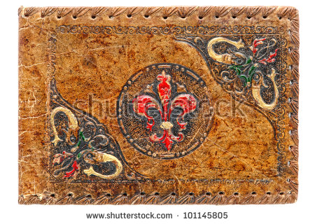 Embossed Leather Stock Photos, Royalty.