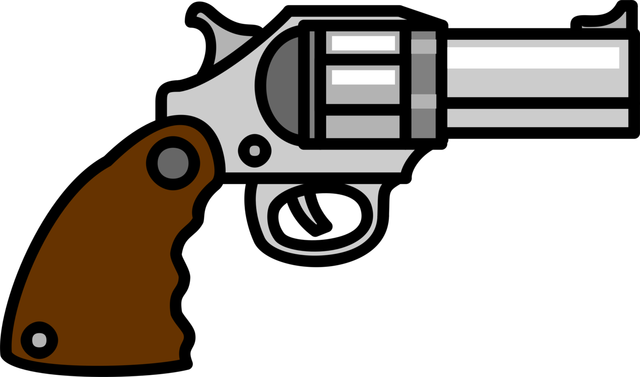 Gun Accessory,Gun Barrel,Weapon Vector Clipart.