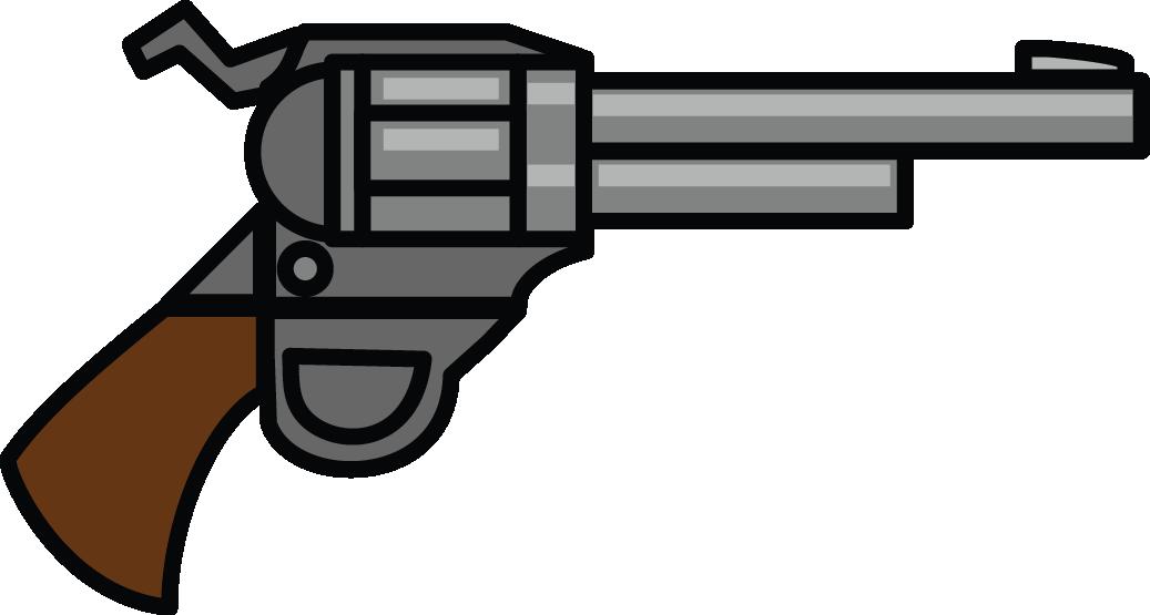 Handgun Transparent Clipart.