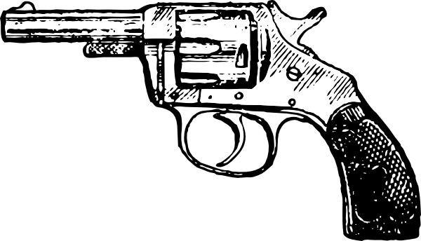Revolver Clip Art at Clker.com.
