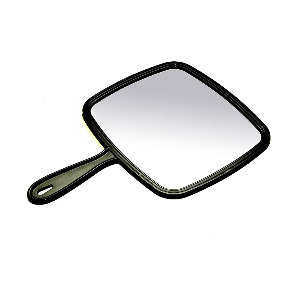 Clipart hand held mirror.