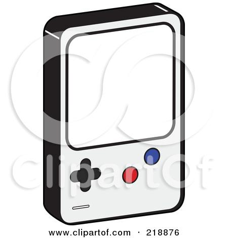 Handheld Video Camera Clipart.