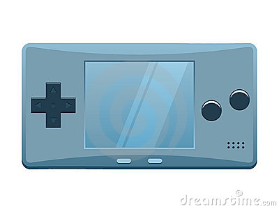Portable Games Console Stock Image.