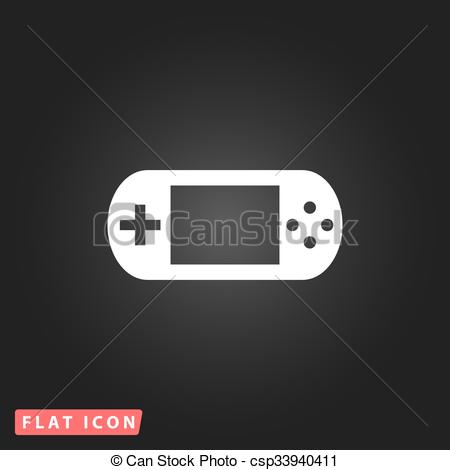 Handheld game console Vector Clip Art EPS Images. 905 Handheld.