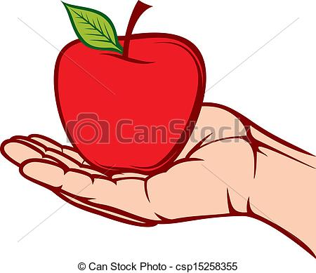 Hand hold clipart.