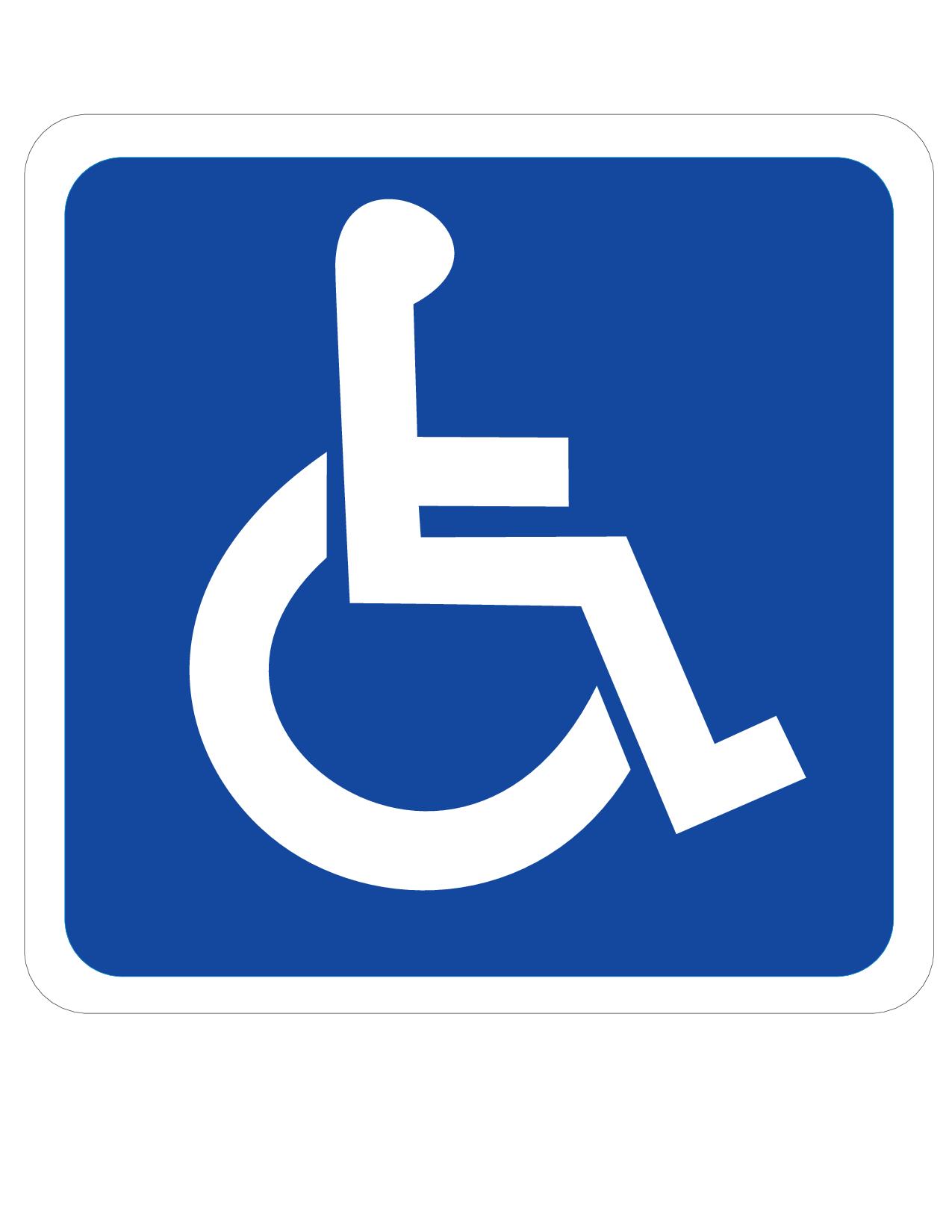 Handicap Sign.