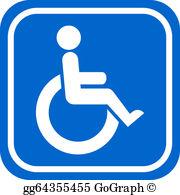 Handicapped Clip Art.