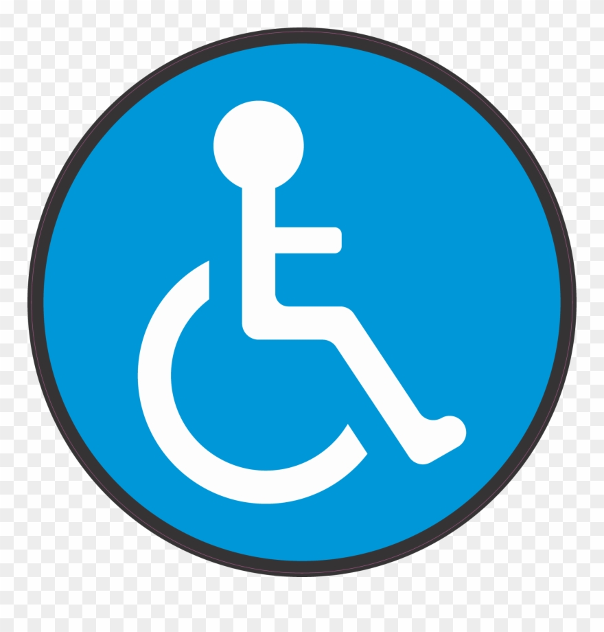 Handicap Floor Mark.