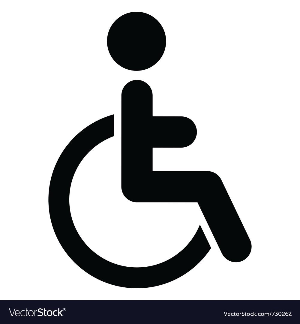 Handicap Logo Vector Free Download Clip Art.