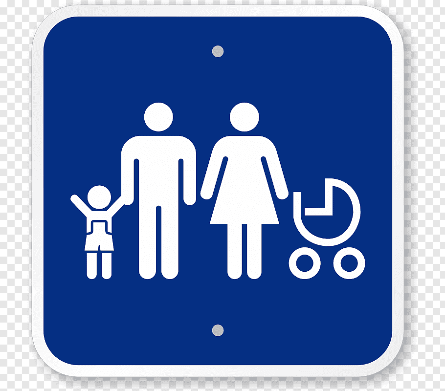 Car Park Family Disabled parking permit Child, traveling by.