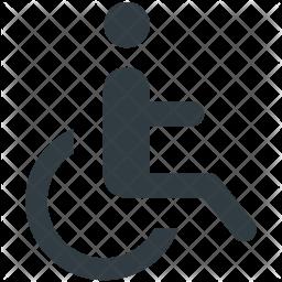 Handicap Icon.