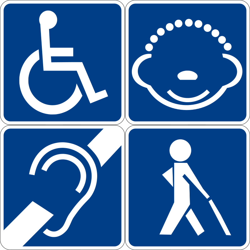 Handicapped Clipart.