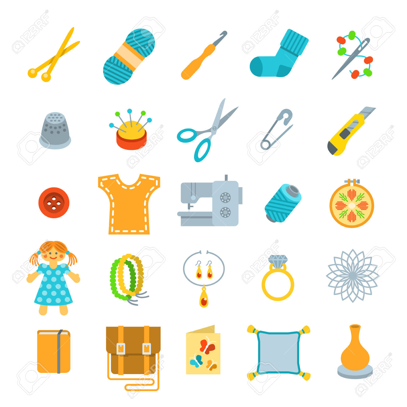 13,231 Handicrafts Stock Vector Illustration And Royalty Free.