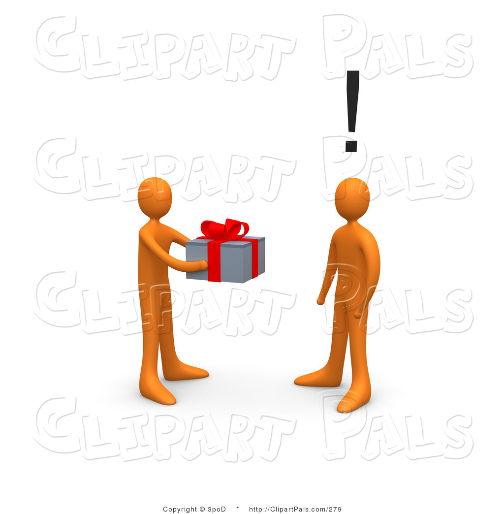 Clip Art Person Giving Clipart.