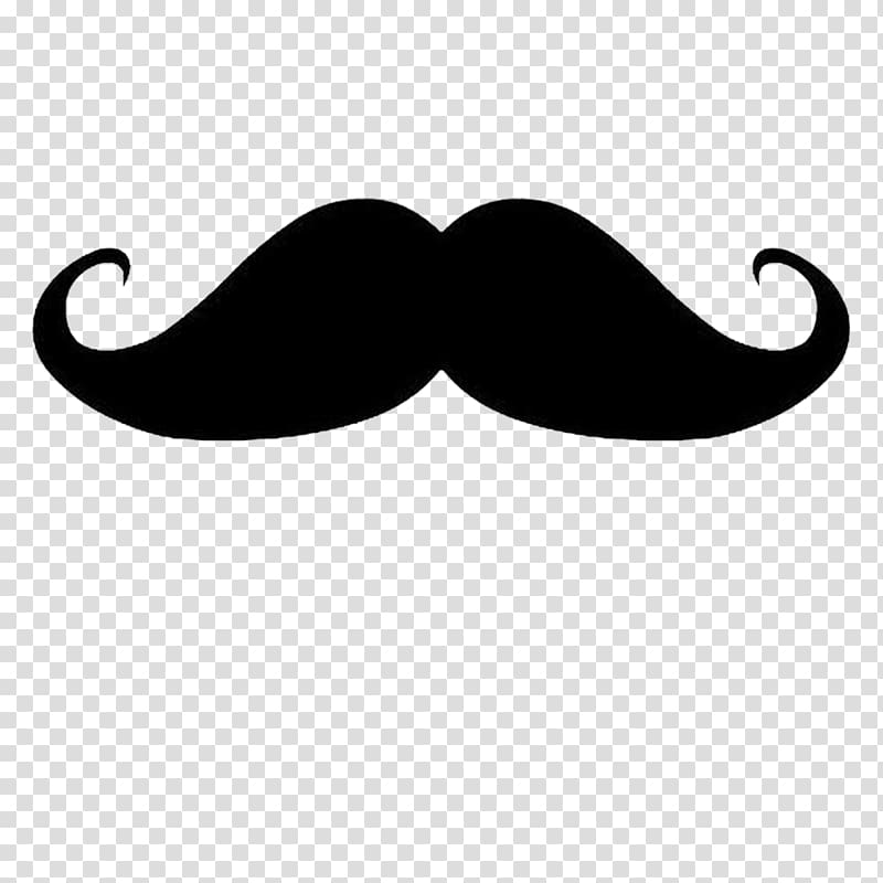 Handlebar moustache , Mustache transparent background PNG.
