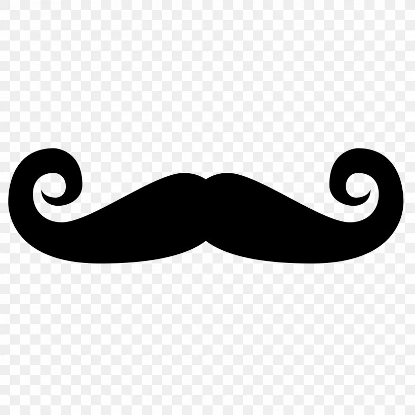 Handlebar Moustache Goatee Clip Art, PNG, 1600x1600px.
