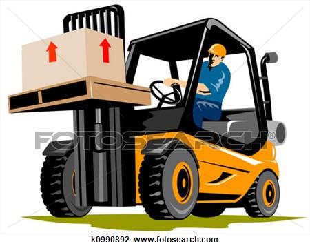 Material handling clipart.