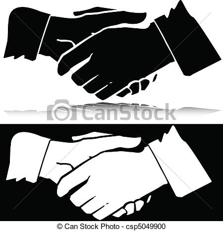 Vector Clipart of handling vector silhouettes csp5049900.