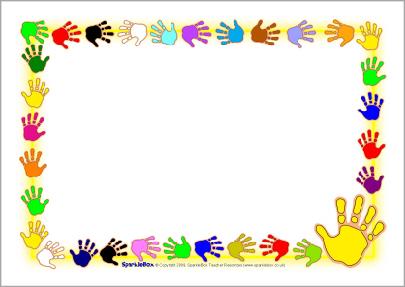 Free Handprint Border Cliparts, Download Free Clip Art, Free Clip.