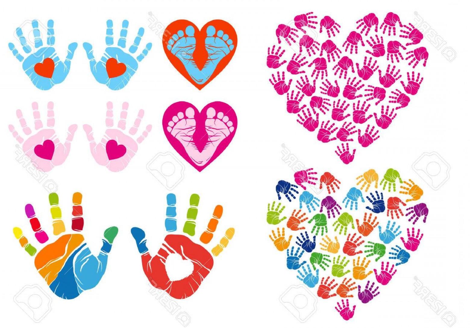 Handprint Heart Cliparts Free Download Clip Art.
