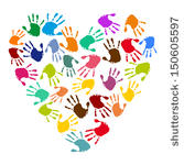 Free Handprint Heart Cliparts, Download Free Clip Art, Free.