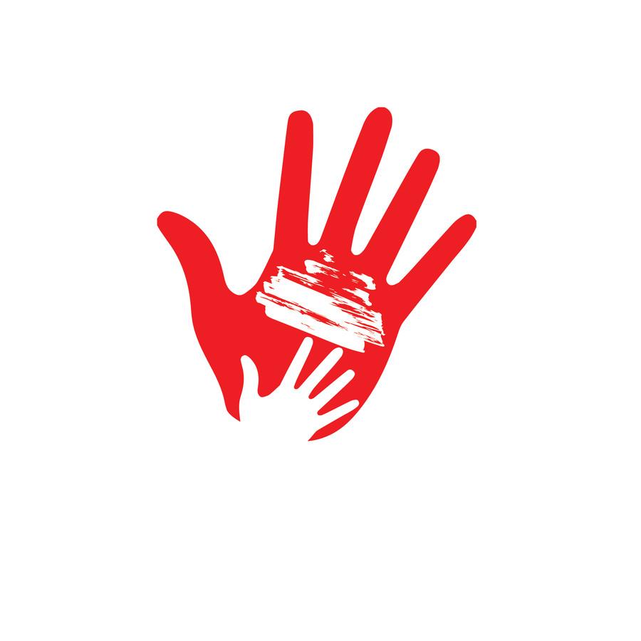 Entry #35 by heronmoy for Handprint logo.
