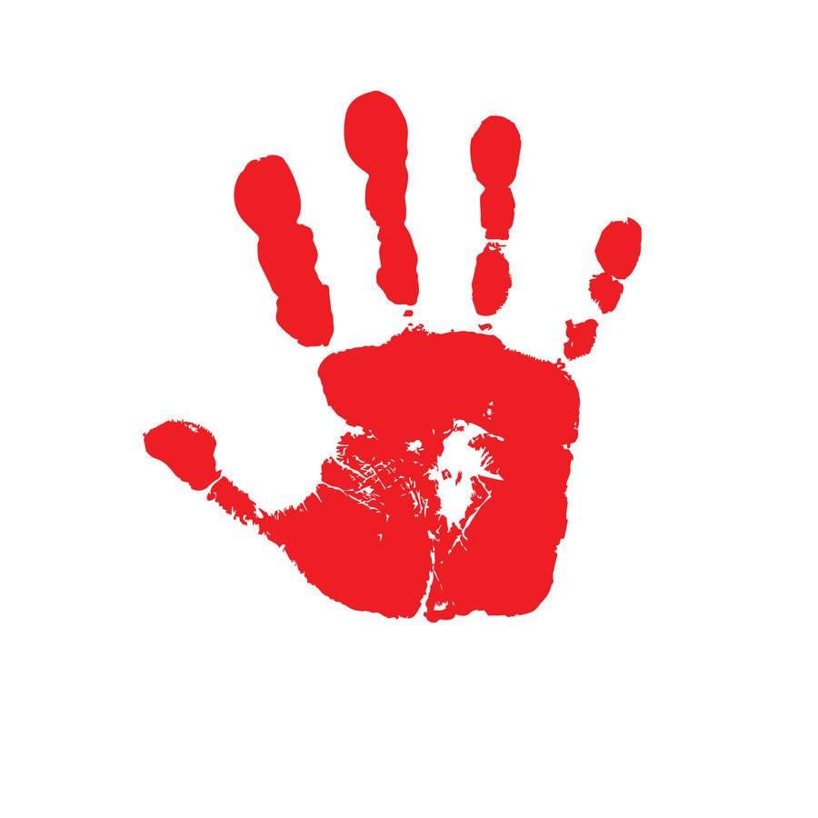 Entry #14 by heronmoy for Handprint logo.