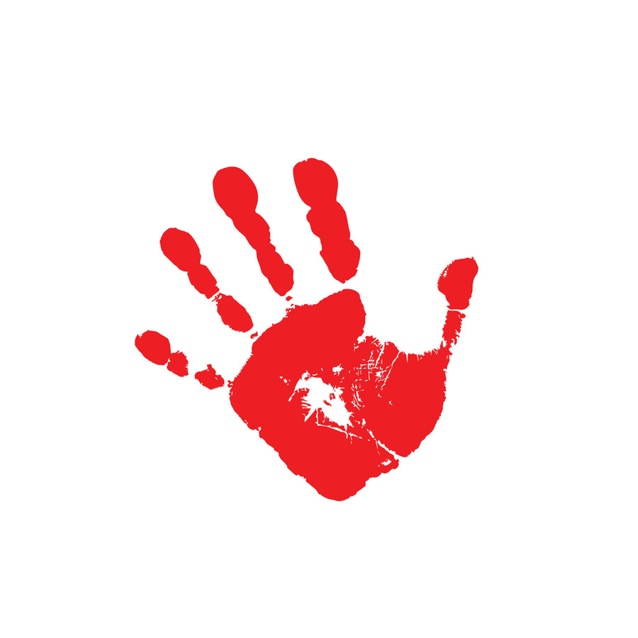 Entry #40 by heronmoy for Handprint logo.
