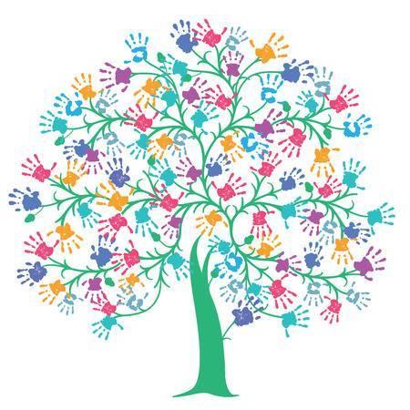 Handprint tree clipart 4 » Clipart Portal.